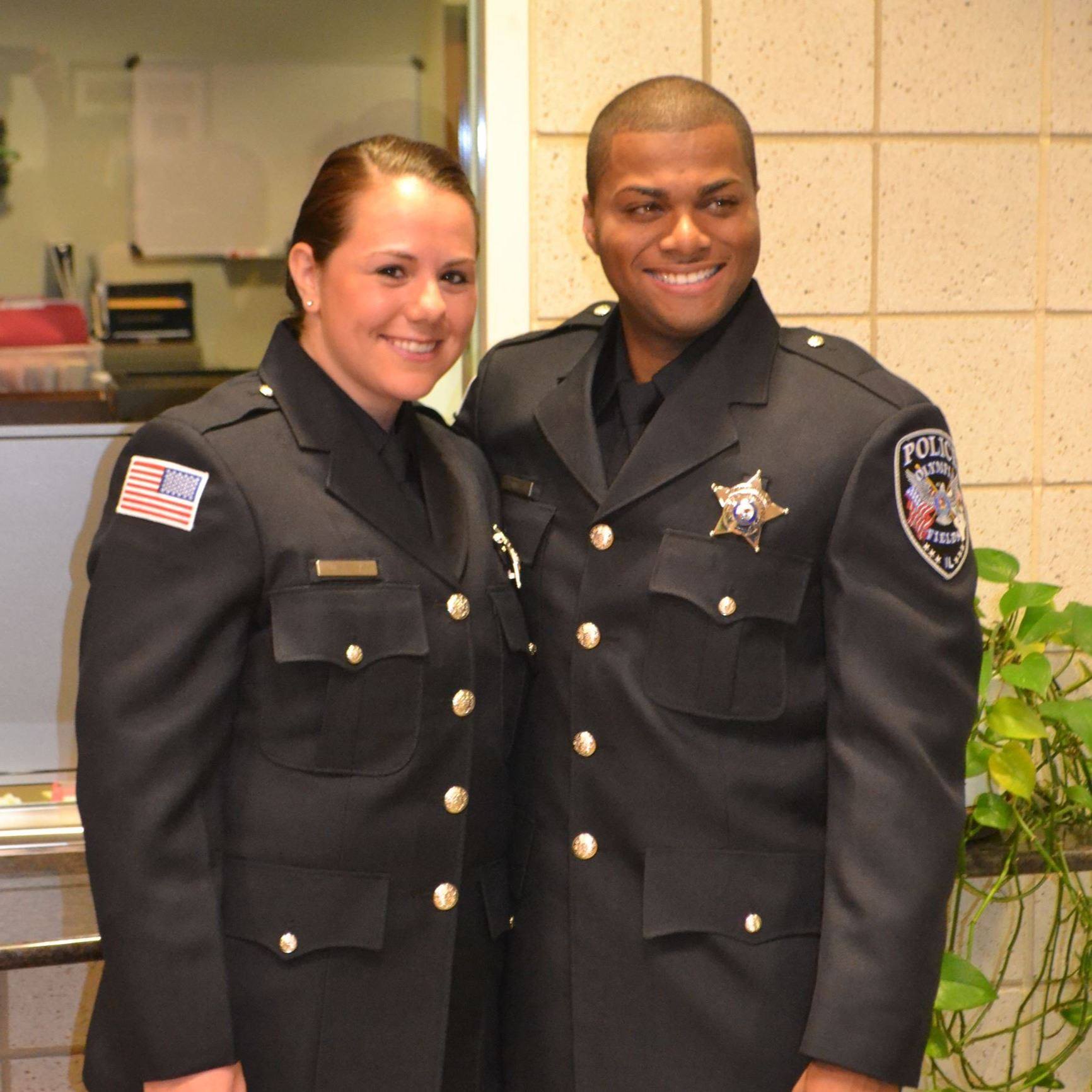 Officers Sheehan and Pennington